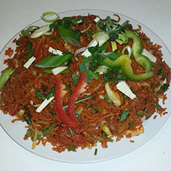 Vege Schezuan Fried Rice